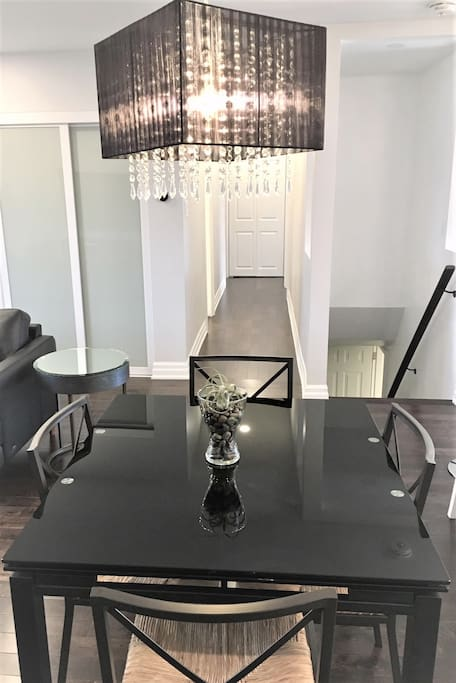 Glass Dining Table (4-8) (Main Fl)