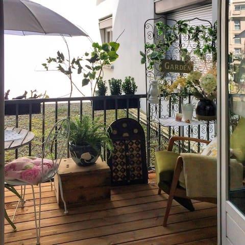 Comfortable flat w/ balcony & WiFi - Aix-les-Bains