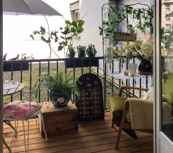 Comfortable flat w/ balcony & WiFi - 艾克斯莱班 (Aix-les-Bains) - 公寓