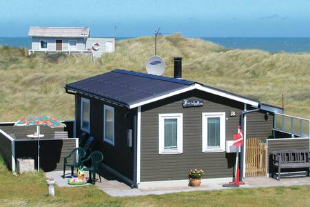 Holiday cottage with 1 bedroom on 42m² in Hjørring
