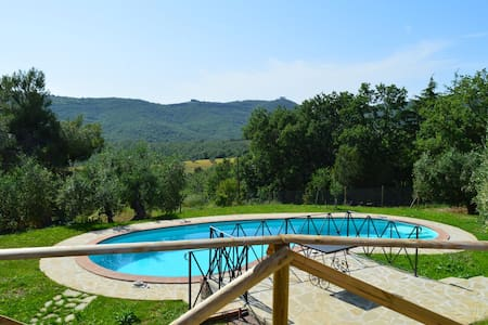 Newly Restored Villa with Pool in Country Location - Panicale - Apartment