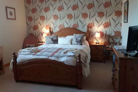 Double Room with Private Lounge and Bathroom - Auldearn - Dům