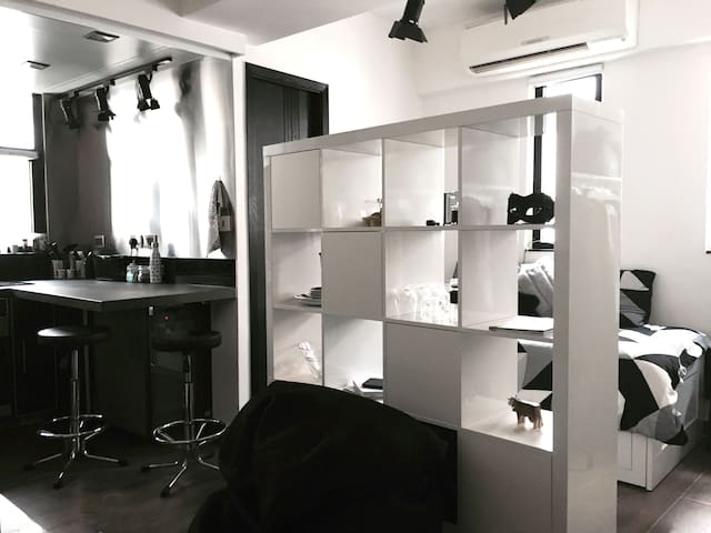 Modern, Design Inspired Studio - Hong Kong - Apartamento