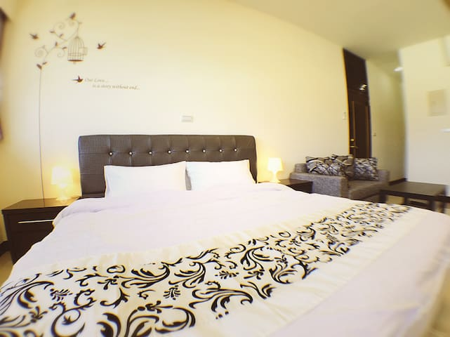 Puli Shine Nest - Suite Double Room - Puli Township - Guesthouse