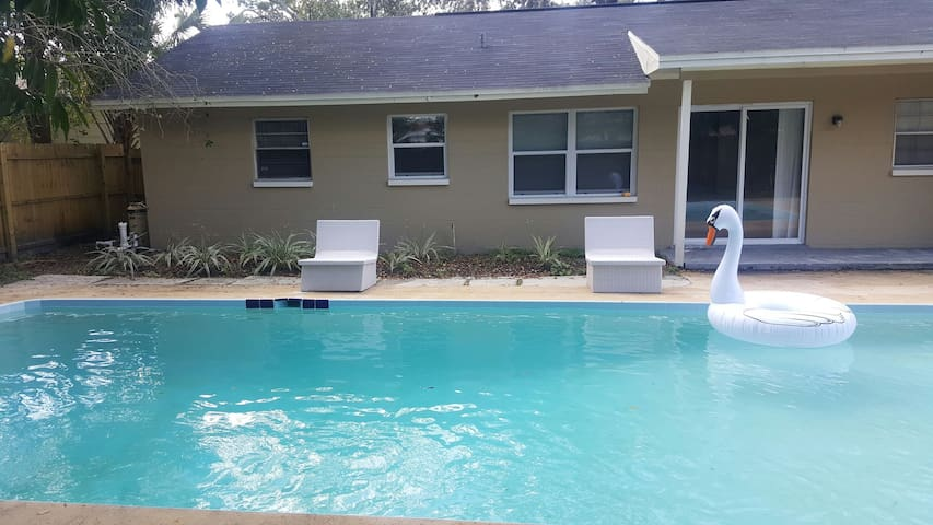 Prime Location , Private Pool  , Located In Tampa - Tampa - Casa
