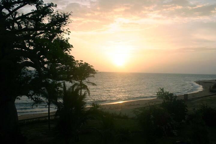 Chambre Quadruple Confort#10 Terrasse et vue océan