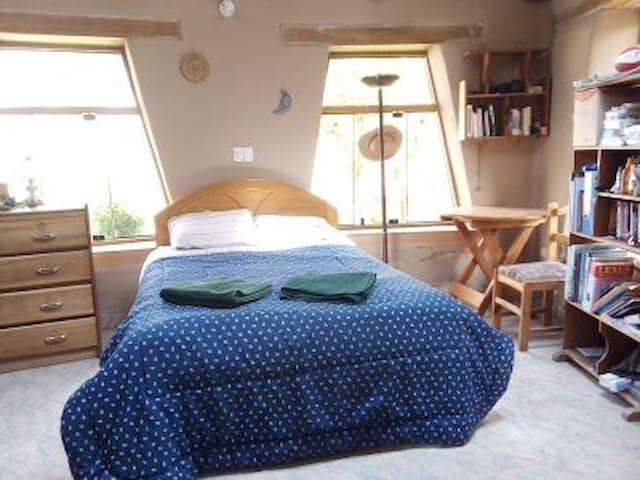 casa rustica amplia  y tranquilo, con buen paisaje