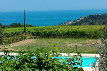 Sea view Villa,hilltop,pool, Marche - House