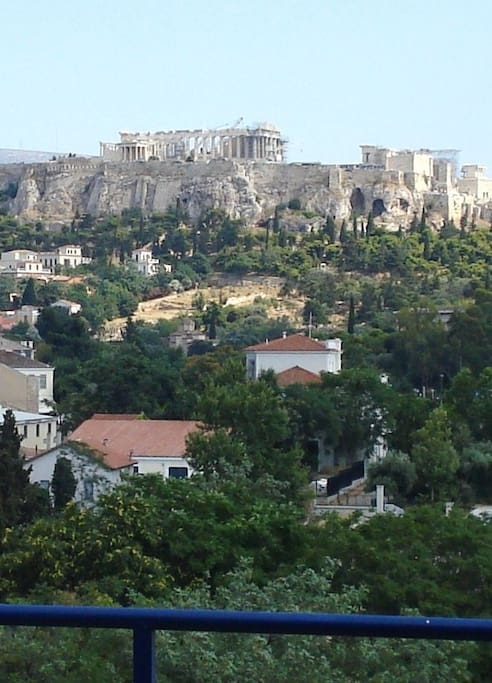 The Acropole from our balcony