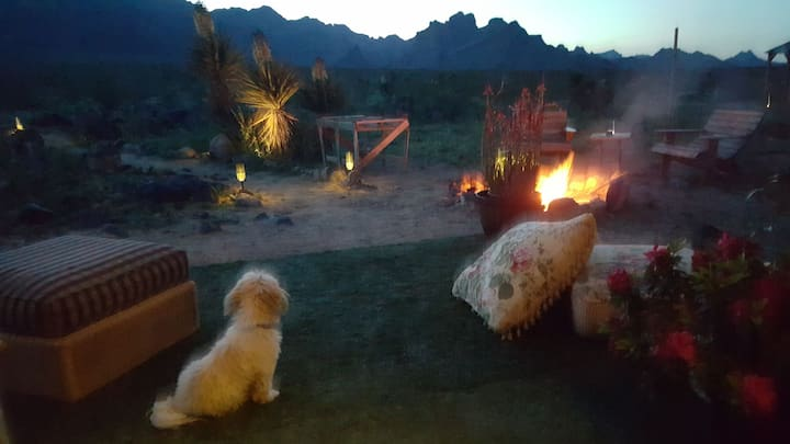 Mount Nutt campground/route 66