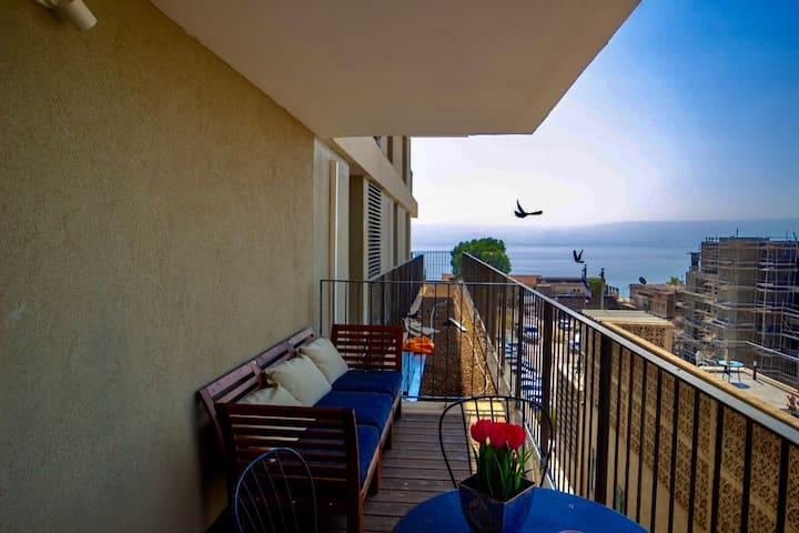 ✶Luxury 2BR + Balcony + Sea view - Yalarent