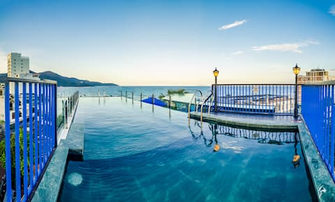STUDIO WITH POOL BESIDES THE BEACH 201- CANI VILLA