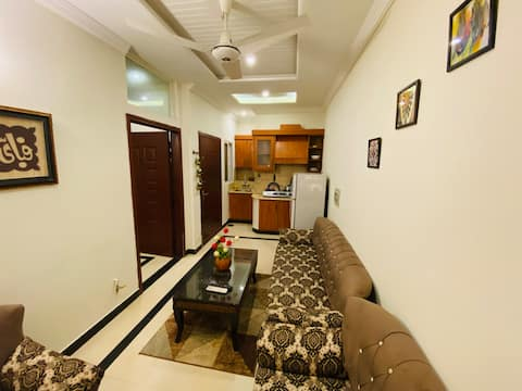 Entire 1 bed with TV Lounge fully furnished flat.