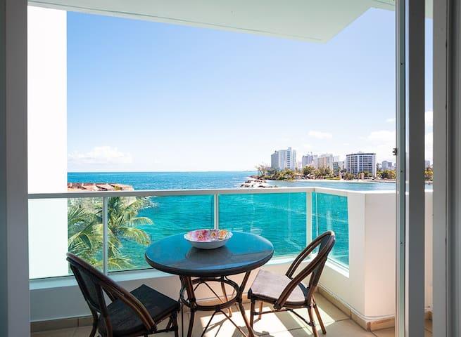 Ocean Villas - 4 guests & master bathroom