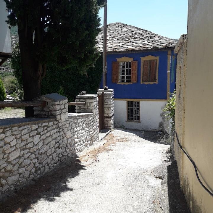 traditional stone house- Theologos,Thasos