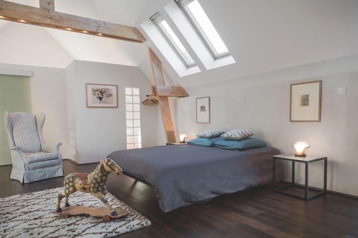 Les Rochers - Licht und Charme - Cerisy-la-Forêt - Bed & Breakfast