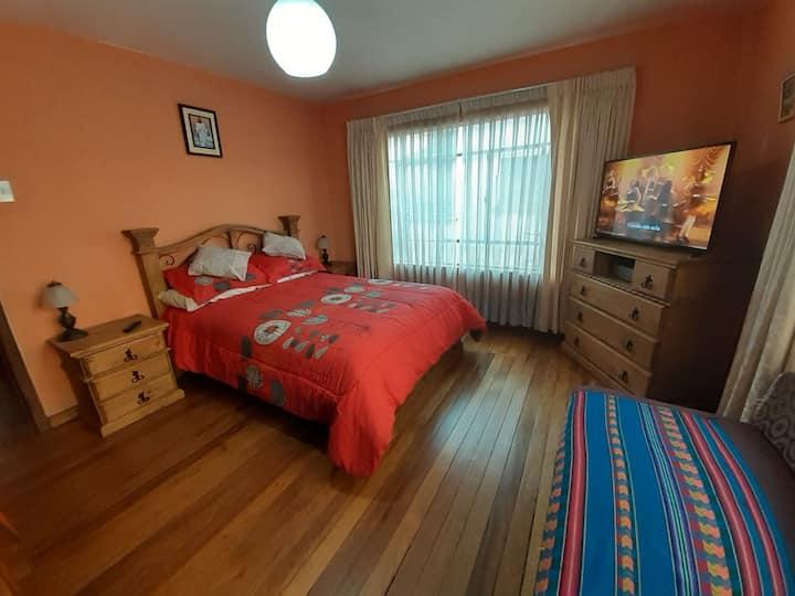 Habitaciones tranquilas y cómodas en bonito barrio