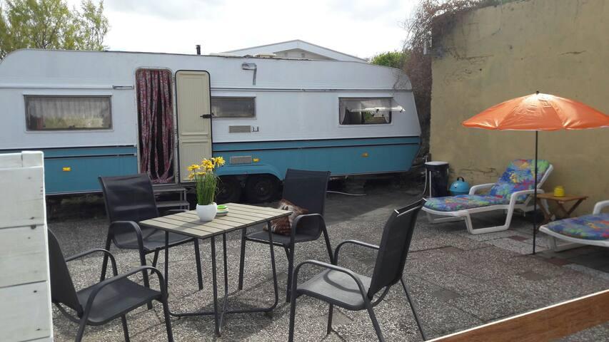 Stacaravan IJmuiden aan Zee, camping de Duindoorn - IJmuiden - Camper/RV