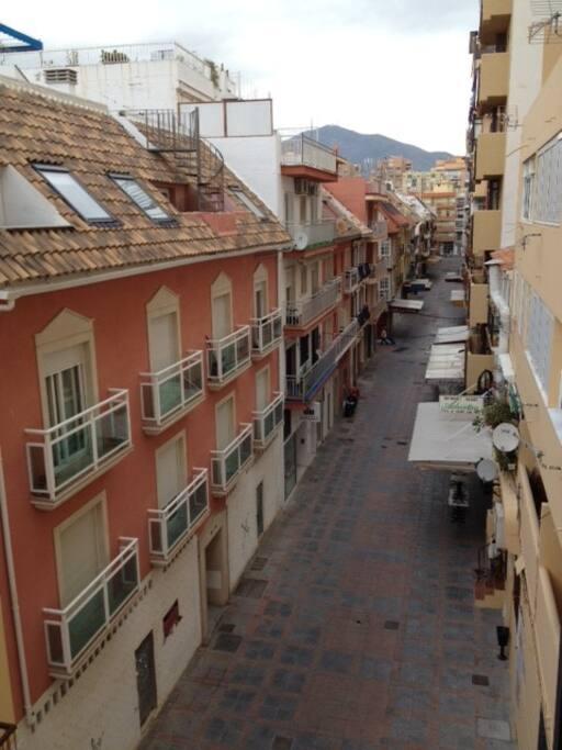Vue de l'appartement, du balcon