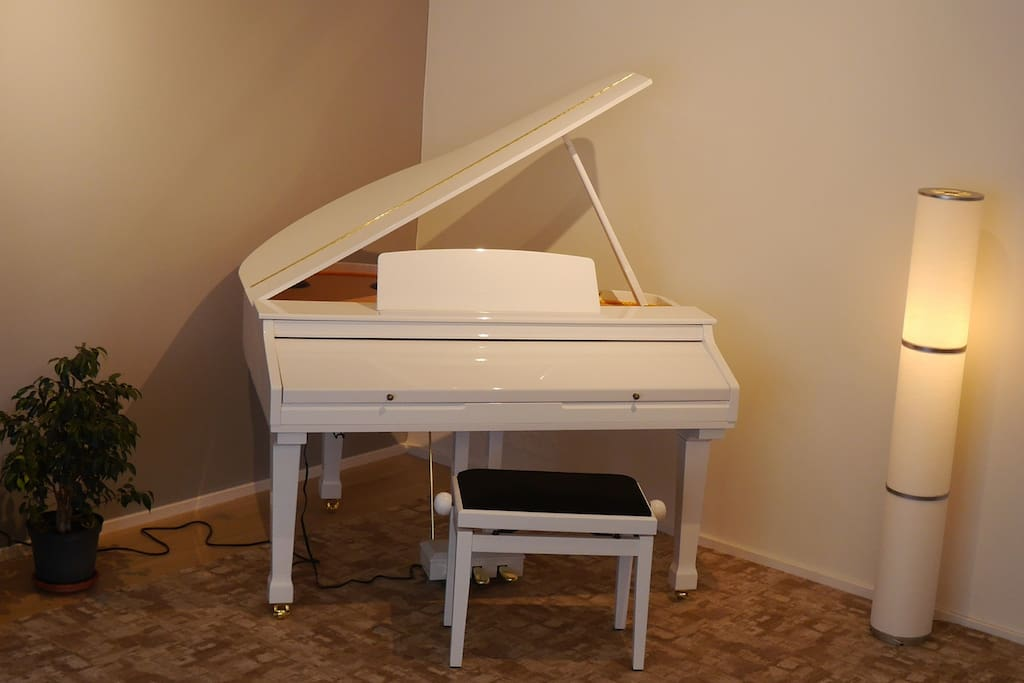 My beautiful piano that you can use of course :-)
