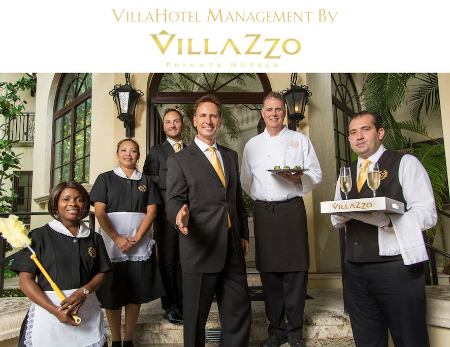 Our dedicated, full-time VillaHotel staff is here to cater to your every need!