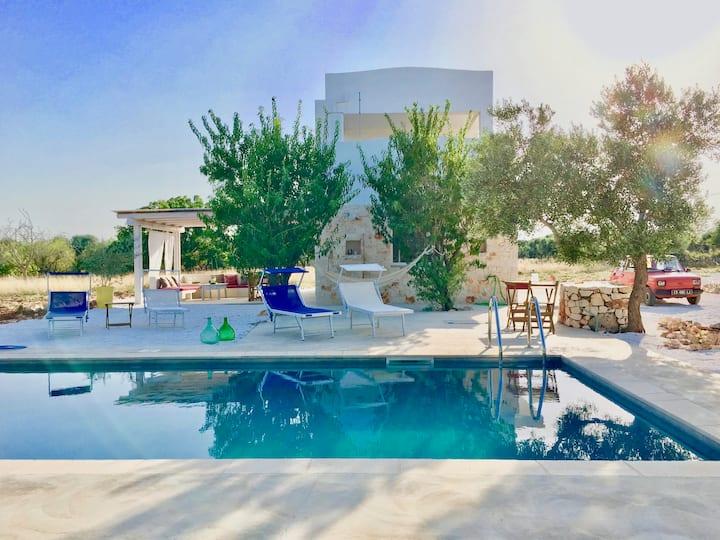 Charmante petite villa au cœur des oliviers
