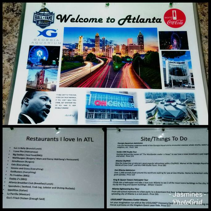 Info binder I made of all things ATL if needed.