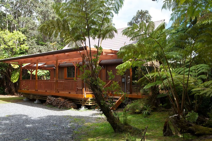Haku House minutes from Volcanoes National Park