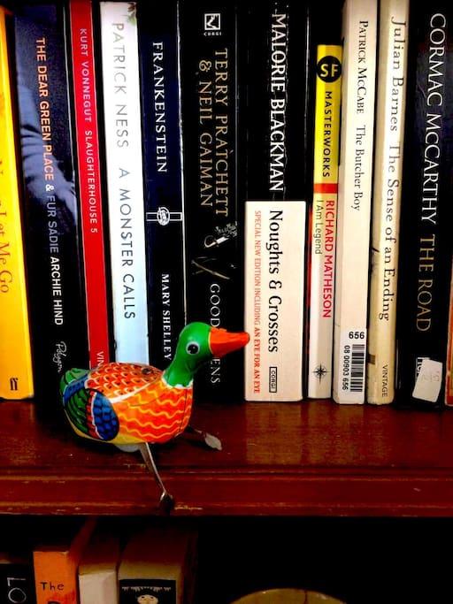 Your bookshelf...
