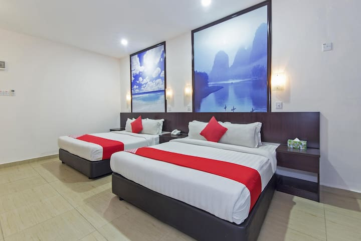 D&F Boutique Hotel Senawang- 1BR Family Suite