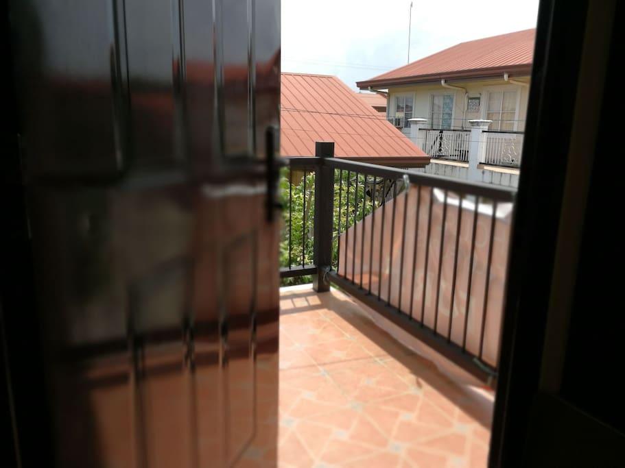 balcony access from room