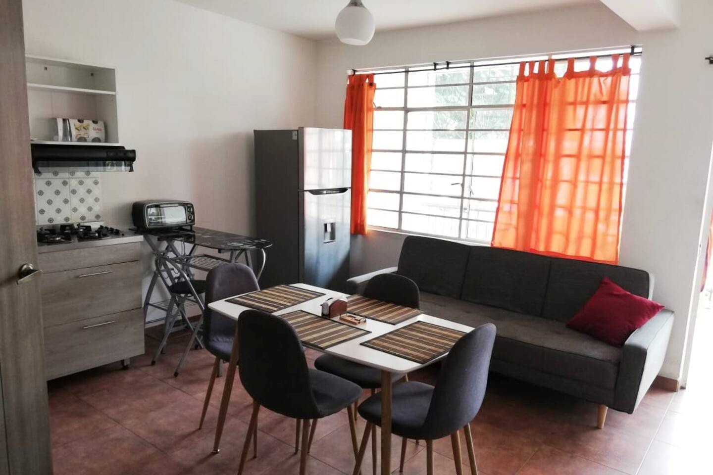 Fully equipped private apartment
