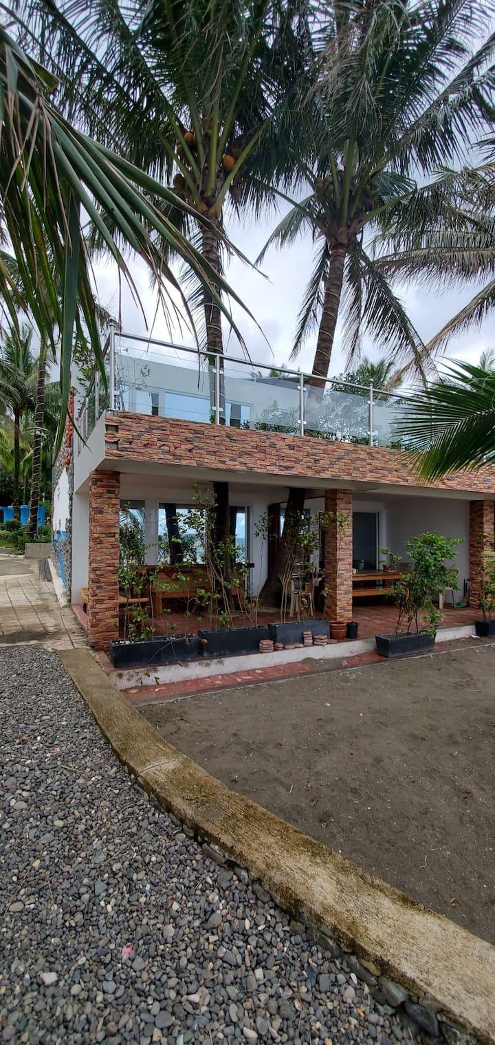 5 STAR - 2 storey Seaside villa on the beach