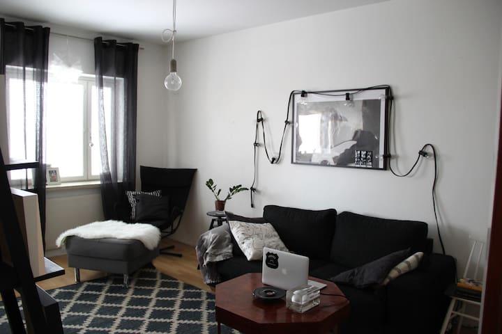 Siisti kaksio 500m keskustasta/Cozy 1BR apartment - Pori