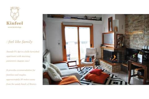 Kinfeels' seaside apartment ( P1 )