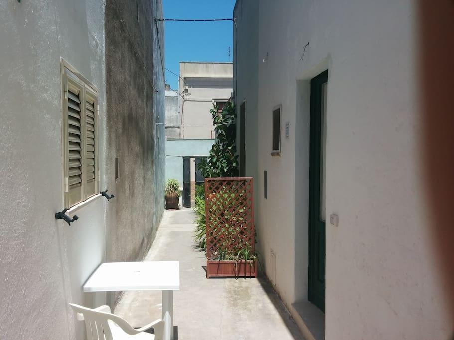 external private corridor