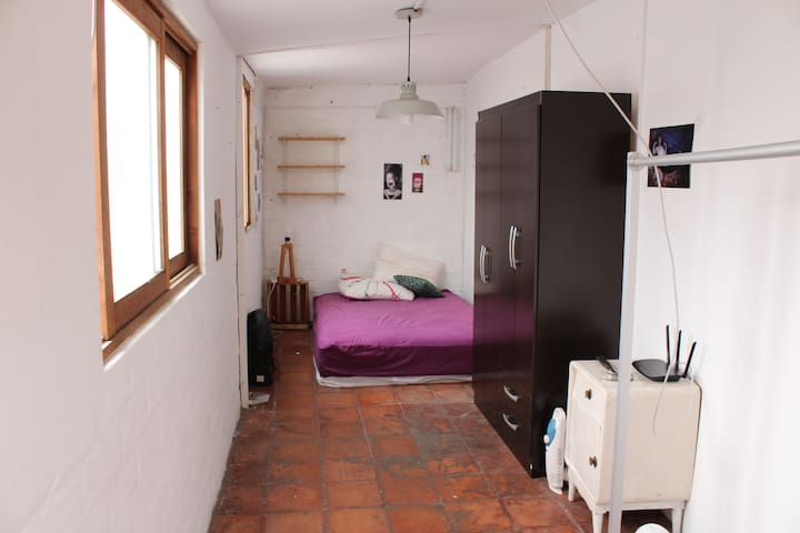 Barranco Double Bed room in Apartment - Barranco District - Apartament