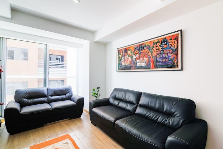 Acogedor Apartamento CityHaus en exclusiva Zona 10