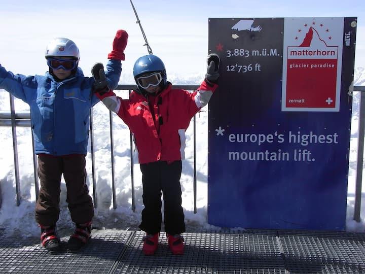 3.5 Zi.Dachwohnung mit Matterhornblick