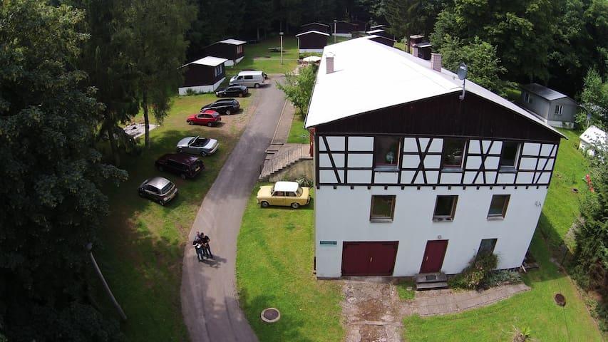 Ferienheim Mosbach Gruppenhaus, Zimmervermietung.