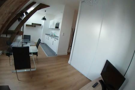 Appartement T2 confort & charme centre ville Autun - Autun - อพาร์ทเมนท์