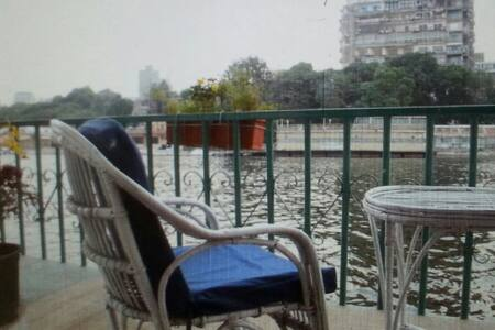 Houseboat on the amazing river nile - kitkat - Boot