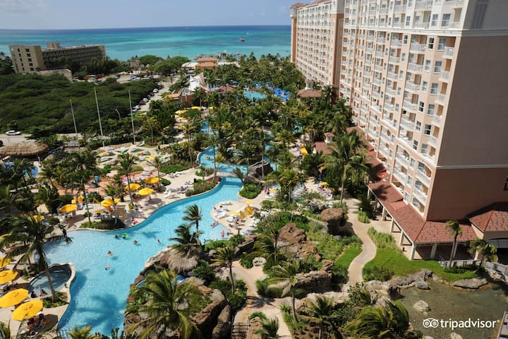 Marriott's Aruba Surf Club Dec Rental for 4 guests - Noord - Apartament