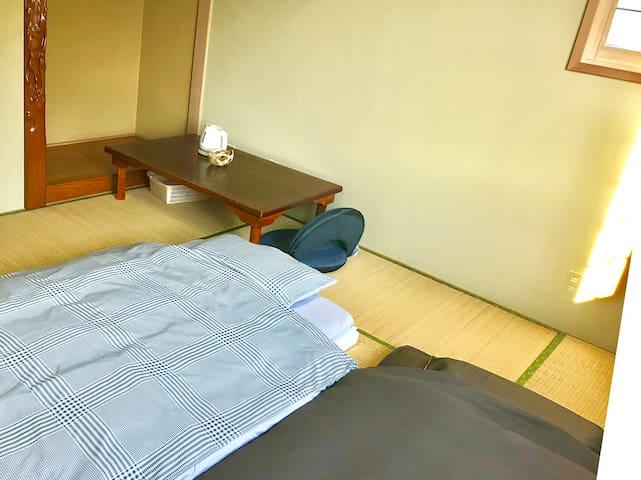 2階 和室 Second floor Japanese-style room