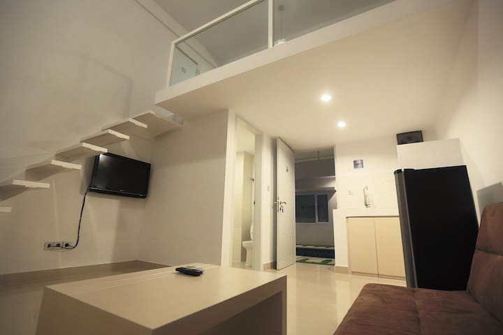 1 BR Loft apartment for 4 guests - Denpasar - Huoneisto