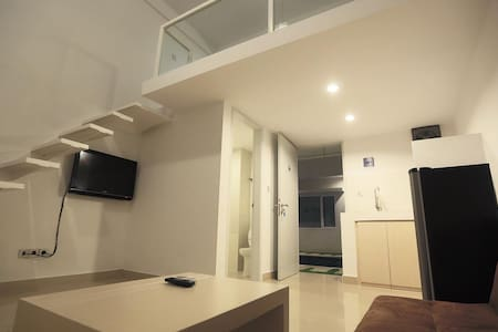 1 BR Loft apartment for 4 guests - 登巴萨 - 公寓