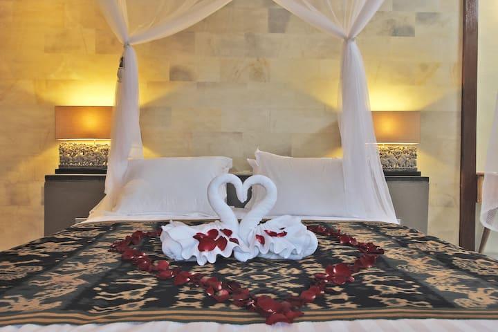Cozy 2bedroom villa with private pool,villa orchid