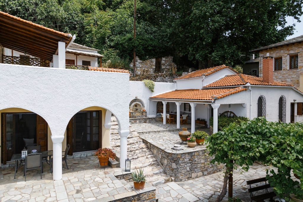 Panoramic view of the property