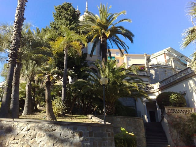 Un luogo suggestivo a Sanremo