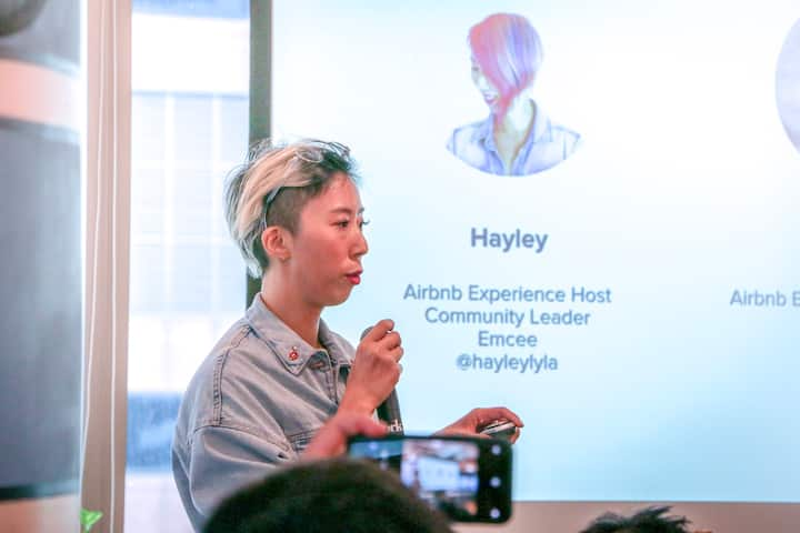 Hayley is Airbnb Experiences Ambassador